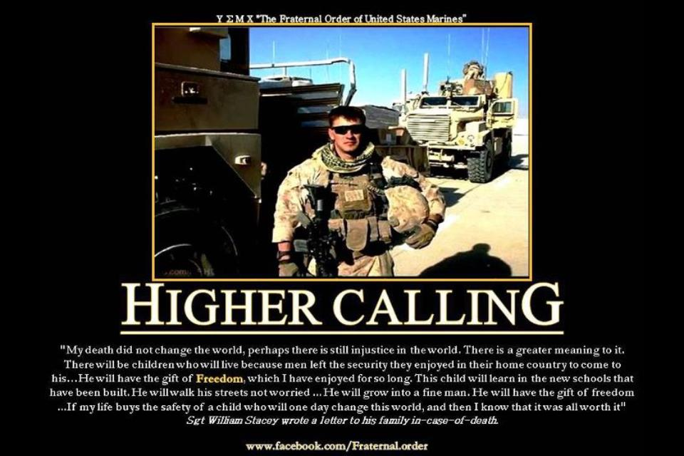 Higher Calling